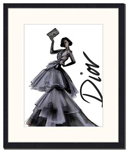 Jacob Baden jurk om indruk te maken, hout multi-kleur, 76,5 x 56,5 x 6 cm