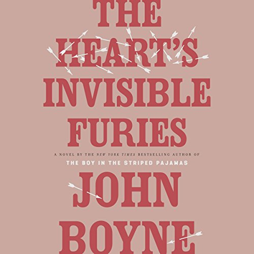The Heart's Invisible Furies     A Novel              By:                                                                                                                                 John Boyne                               Narrated by:                                                                                                                                 Stephen Hogan                      Length: 21 hrs and 10 mins     3,090 ratings     Overall 4.7
