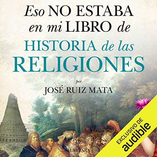 Diseño de la portada del título Eso no estaba en mi libro de Historia de las Religiones