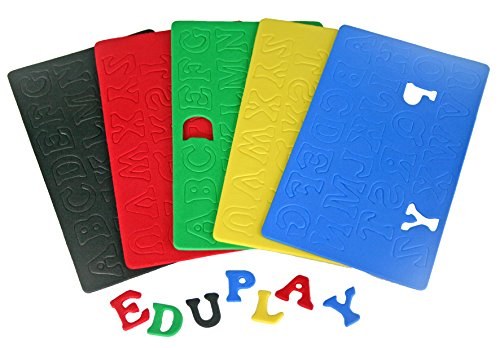Eduplay 200042Moosgummi Buchstaben