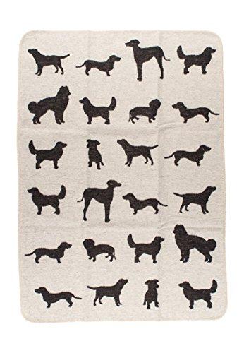 David Fussenegger 62296079 Haustierdecke Hunde Allover, 70/90 cm
