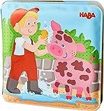 HABA 55161478 Badebuch Waschtag bei Schwein & Kuh