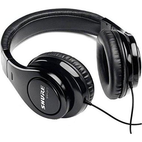 Shure SRH240A, gesloten koptelefoon/over-ear, zwart, ruisonderdrukkend, krachtige bassen en gedetailleerde hoge tonen