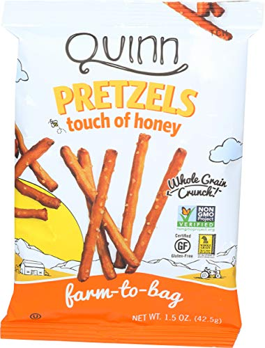 Quinn Popcorn, Pretzel Sticks Honey, 1.5 Ounce