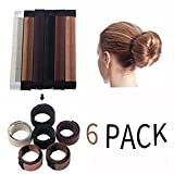 Women Girls Bun Maker Hairstyle - DIY Women Girls Perfect Hair Bun Making Styling French Twist Donut Bun Hairstyle Tool