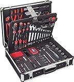 Vigor V2542 - Maletín con herramientas (143 piezas)