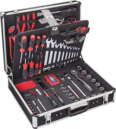 Vigor V2542 Werkzeug-Koffer inklusiv Sortiment, 143-teilig