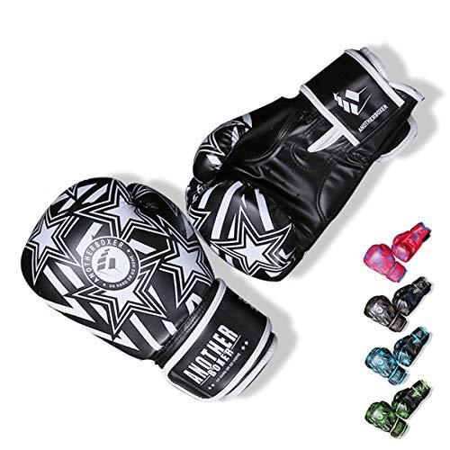 OLYSPM Guantes de Boxeo para niños|4oz-14oz|para Entrenamiento,Combate,Kickboxing,Lucha|Guantes de Box Color múltiple(Blanco)