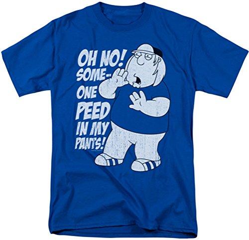 Family Guy - Männer in meinen Hosen-T-Shirt, X-Large, Royal Blue