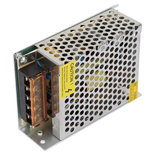 Conventor de fuente de alimentación de conmutación AC110V-220V a DC 12V 5A 60W Fuente de alimentación Transformador para luces LED de visualización