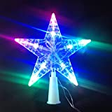 Estrella con luz de led,luz árbol Superior (HC Enterprise-S012)