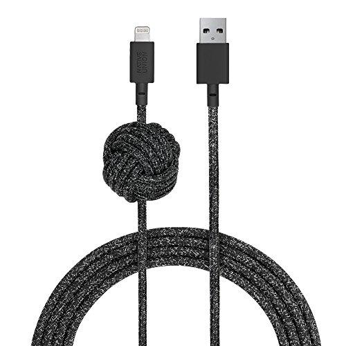 Native Union Night Cable - 3 Metres Ultra-Robusto Reforzado [Certificado MFi] Cable...