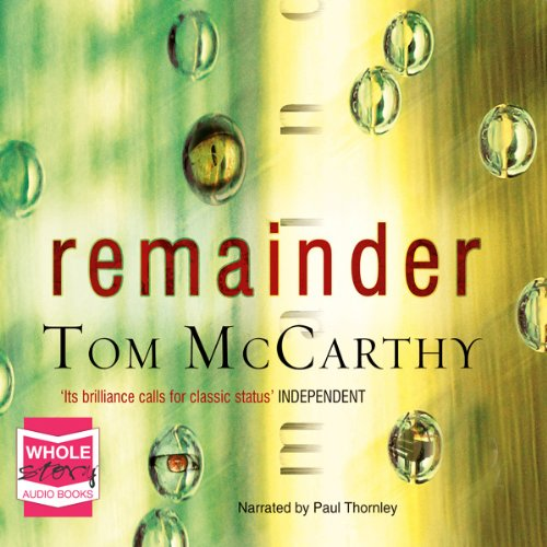 Remainder  audiobook cover art