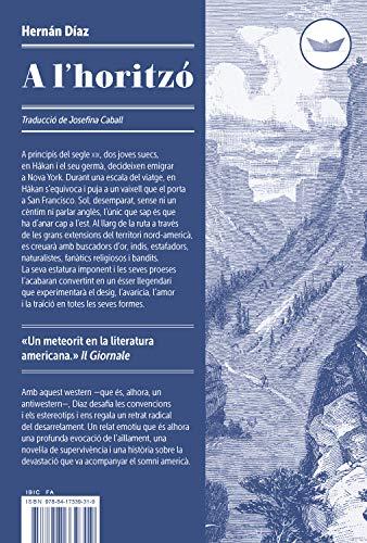 A l'horitzó (Antípoda Book 44) (Catalan Edition)