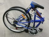 Columba Folding Bike Blue Color 26 inch (SP26S_BLU)