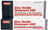 Rugby Zinc Oxide 20% Skin Protectant - 2 Oz Ointment (Relief for Diaper Rash, Chafed Skin, Poison Ivy)