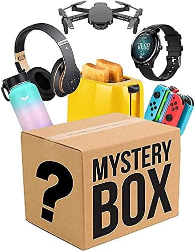 nakw88 Caja misteriosa Caja de misterio cajas de suerte Misteriosos productos aleatorios interesantes y emocionantes Box Lucky Hay la oportunidad de abrir,como Drones Smart Watches GamePads cámaras di