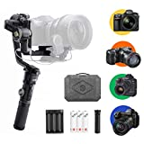 Zhiyun-CRANE-2S, Standard Package with Mini Grip Lite&Extra Batteries Set, Handheld Gimbals Stabilizer for DSLR and Mirrorless Camera Compatible with Panasonic Nikon Sony Nikon BMPCC