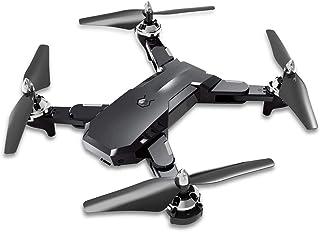 LUQ-DR Drone Antena De Cuatro Ejes Aeronave Altura Fija Control Remoto Aeronave WiFi Mapeo En Tiempo Real App Control Gesto Inducción Altura Fija Plegable Portátil,Black,5millionpixels