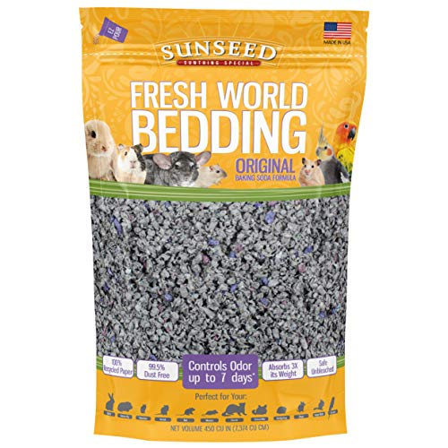 Sunseed 18220 Fresh World Bedding for Small...