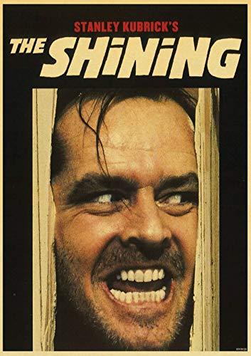 Kubrick Classic Movie Poster The Shining / 2001 Space Roaming/Clockwork Orange/Lolita Decoración del hogar Retro Poster Painting 58 * 96cm (sin Montura)