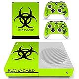 Adventure Games - XBOX ONE S - Biohazard - Vinyl Console Skin Decal Sticker + 2 Controller Skins Set