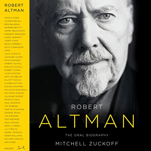 Robert Altman audiobook cover art