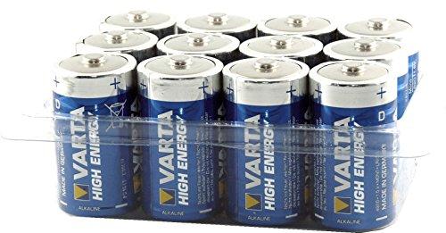 Box Cardiocell ® inkl. High Energy Alkaline D / Mono / LR20 / MN1300 1,5 Volt Batterien , hohe Qualität, u.a. für Telefon, Spielzeug, Taschenlampen, Radio, Funkmäuse, Lichterketten etc..v.