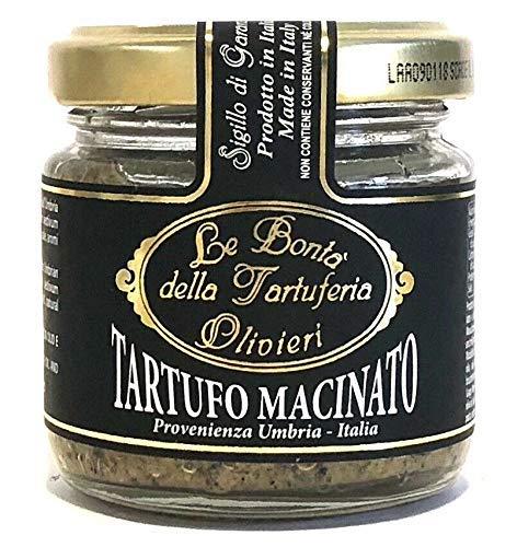 Trufas Negras Picadas 80 Gram - Producto De La Tradición Italiana
