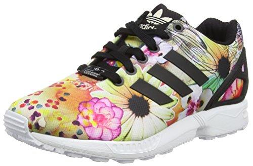 Adidas ZX Flux Sneakers, Schwarz(Core Black/Core Black/Ftwr White), 36 2/3 EU