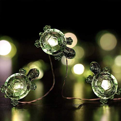 LED-Lichterkette Schildkröte dekorative Lichtstreifen Acryl-Batteriebox USB-Lichterkette LED Streifen Dekorative Beleuchtung