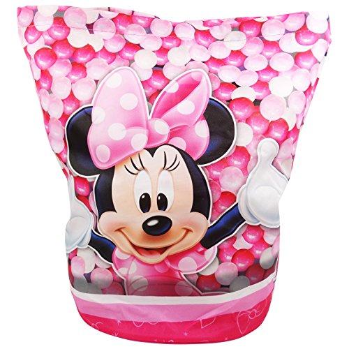 Disney Minnie - Trekkoord Rugzak - Ronde onderkant - voor kinderen - Kleur Roze