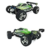 TruReey RC Car High Speed 45MPH 4x4 Racing Cars 1:18 Scale 4WD Electric Power W/2.4G Radio Remote Control Off Road Buggy Truck Powersport Roadster RTR Fast, Green