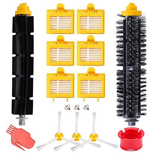 Remplaçant kit Brosses secours d'accessoires pour iRobot Roomba série 700 720 750 760 765 770 772 772e 774 775 776 776p 780 782 782e 785 786 786p 790