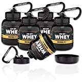 OnMyWhey - Portable Protein and Supplement Powder Funnel Keychain - Classic 5-Pack