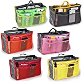Ascension Handbag Organiser Wallet Toiletries Make up Kit Handbag Pouch Bag in Bag Organiser Insert Organizer Tidy Travel Cosmetic Pocket Bag (Pack of 1)