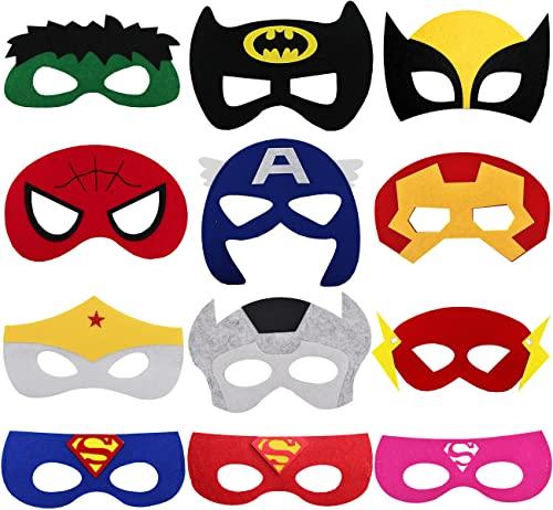 Tomicy Máscaras de Superhéroe 12...