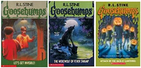 Goosebumps 3 Pack - Let's Get Invisible ! / The Werewolf of Fever Swamp / Attack of the Jack-o'-lanterns
