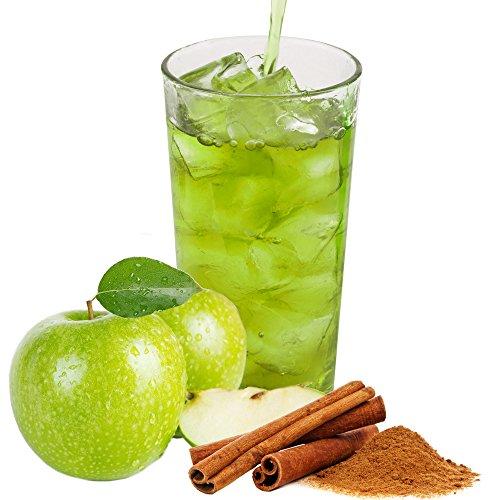 Zimt Apfel Geschmack extrem ergiebiges Getränkepulver für Isotonisches Sportgetränk Energy-Drink ISO-Drink Elektrolytgetränk Wellnessdrink (333 g)