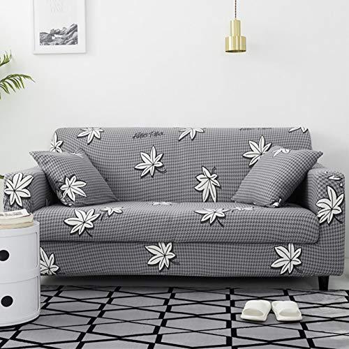 Umineux - Funda elástica para sofá con 2 Fundas de Almohada, 2/3/4/ Fundas de sofá