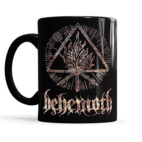LaMAGLIERIA Tasse Total Black Mug Behemoth Cod Bh02 - Tee/Kaffee-keramiktasse Metal Band, Schwarz