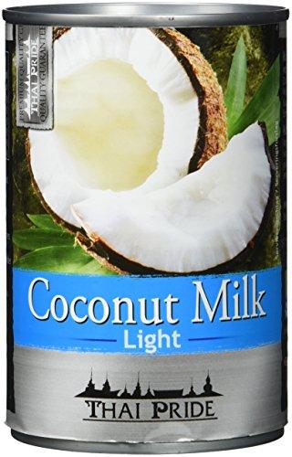 Thai Pride Kokosnussmilch light, Fettgehalt: circa 6 % (1 x 400 ml)