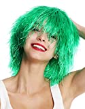 WIG ME UP- MMSLW-K427 Peluca de Mujer Hombre Carnaval despeinada despeluznada como Paja voluminosa Duende Payaso Color...