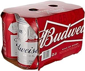 Budweiser Beer Can, 6 x 355ml