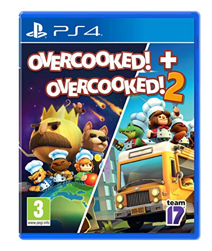 Ps4 Overcooked! + Overcooked! 2 - Double Pack