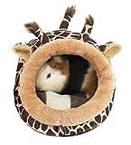 Winterworm - Cama de felpa suave para mascotas con almohadilla...