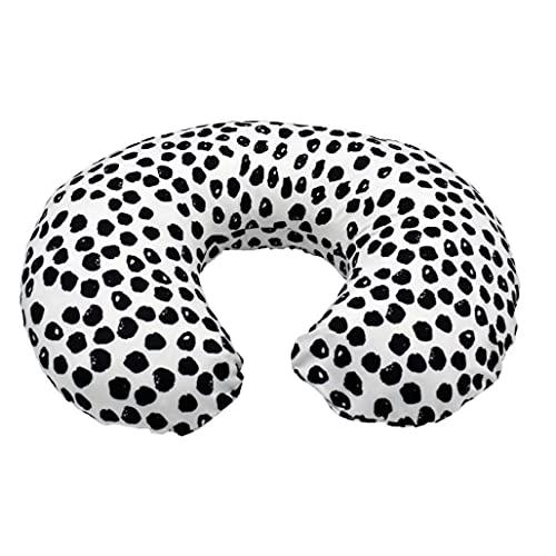 EElabper Cubierta de Almohada de enfermería para bebés Caja de cojín de Forma de U Pible con Cremallera Oculta