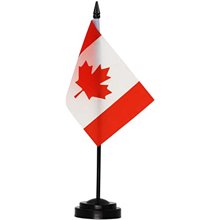 Flagmania/® Orkney New 6 x 4 Desk Table Flag with Black Plastic Flat Base