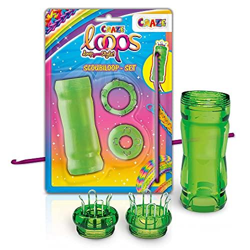 CRAZE Loops Scoubiloop 32756-Anillos Pulseras de Silicona, Color Mega us-Trend (32756)