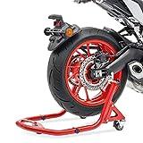 Caballete Movil Moto Trasero para Kawasaki ER-6f / ER-6n XBV Rojo